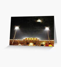 Hutto Hippo Stadium Greeting Card