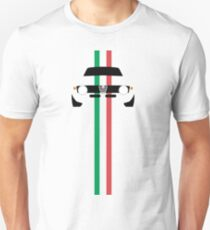 Simplistic Classic Italian coupe with verticle Italian stripes T-Shirt