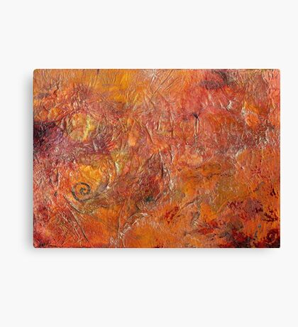 Gilded Orange Canvas Print