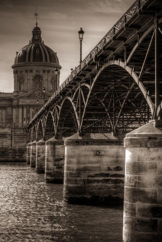 Pont des Arts and Institut de France by Søren Dalsgaard Brath