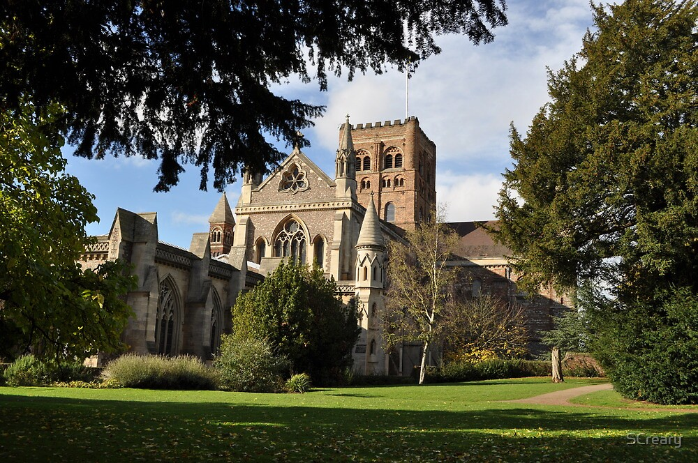 St Albans Abbey Autumn 2012 by Samantha Creary