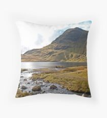 Stickle Tarn, Lake District Throw Pillow