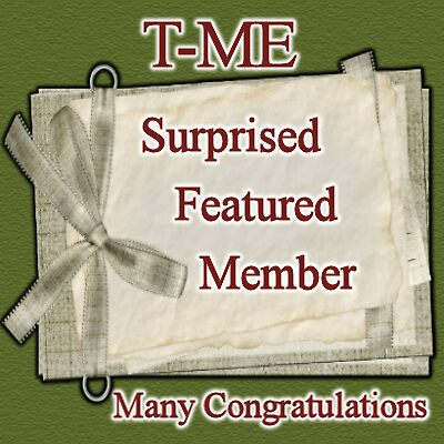Surprised Featured Member .. T-ME Group by LoneAngel