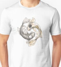 Ying and Yang Koi Unisex T-Shirt