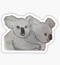 Koala & Joey Sticker