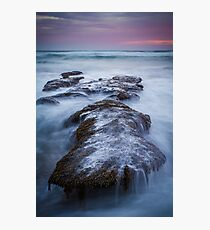 Dusk at 13th Beach Photographic Print