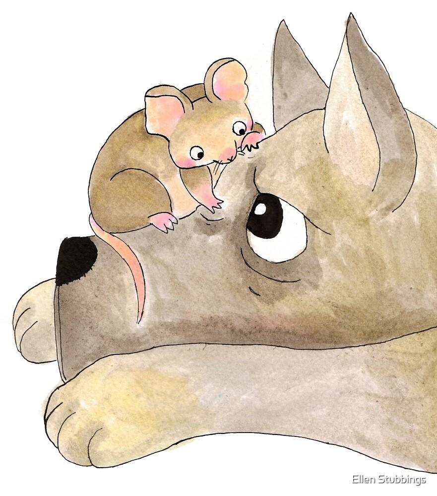 Gustav The Mouse (2/3) by Ellen Stubbings