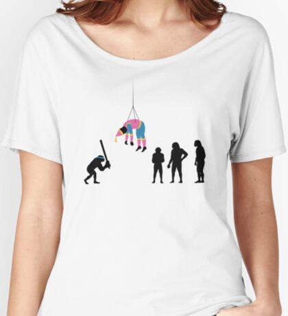 99 Steps of Progress - Pinata Women's Relaxed Fit T-Shirt