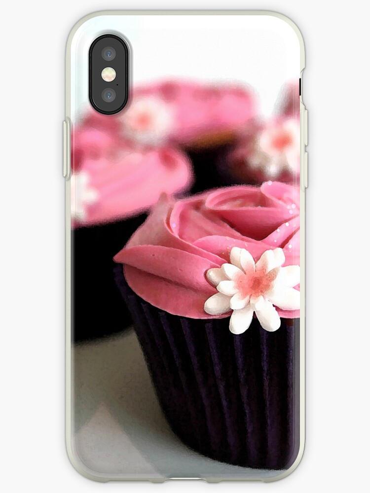 Cheeky Cupcake case by Rob Fenn