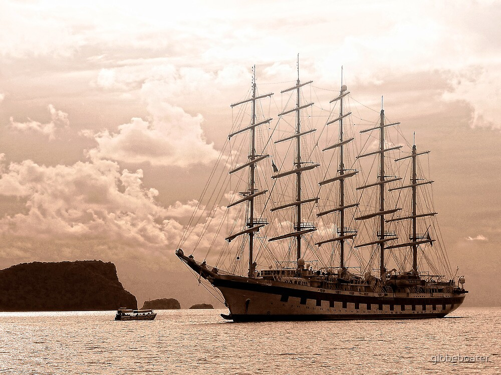 """Royal Clipper"" by globeboater"
