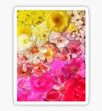 Sea of Roses Sticker