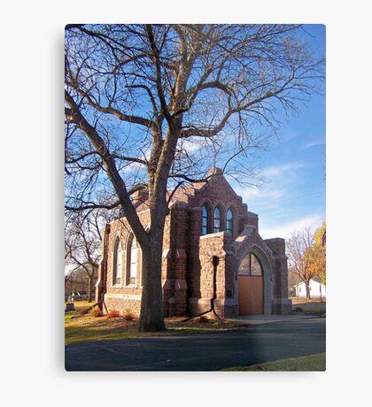 Glidden Memorial Chapel Metal Print