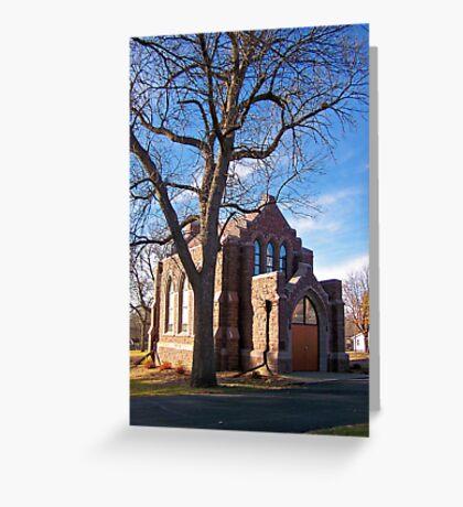 Glidden Memorial Chapel Greeting Card