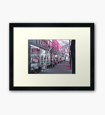 When You Need Pink, Make it Pink~! Framed Print