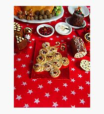 1/12th scale miniature Christmas Tree Bread Photographic Print