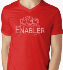 I'm Just an Enabler Men's V-Neck T-Shirt
