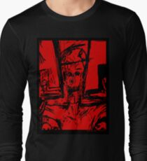 Zombie Christ (In Red) Long Sleeve T-Shirt