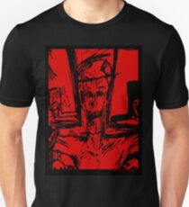Zombie Christ (In Red) Unisex T-Shirt