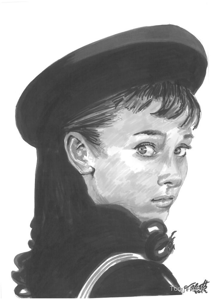 Audrey Hepburn by Tony Heath