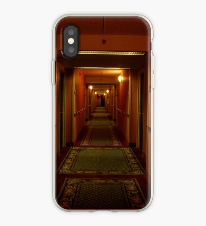 hallway iphone/samsung galaxy cover iPhone Case