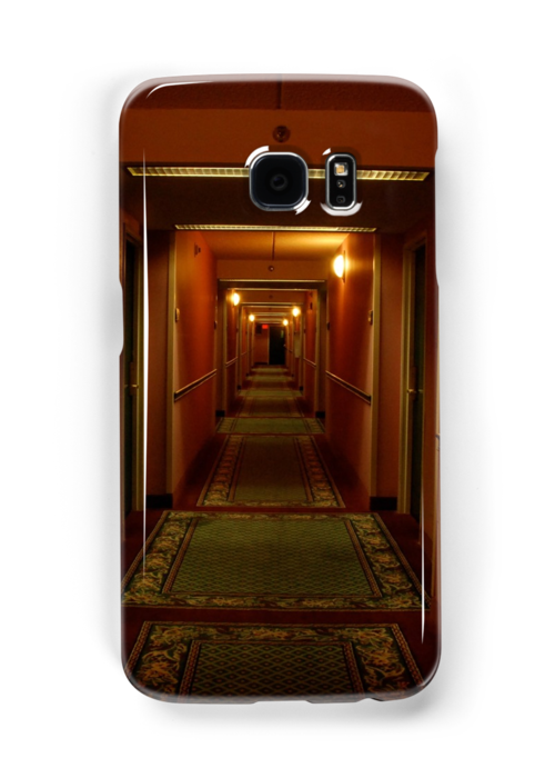 hallway iphone/samsung galaxy cover by mellychan