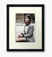 Jenna Coleman Framed Print