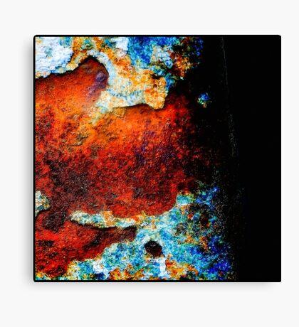 Rusty Metal Canvas Print