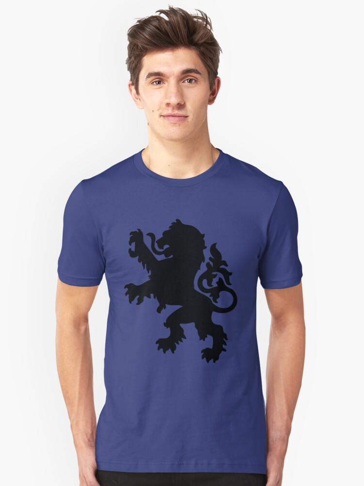 lion Unisex T-Shirt Front