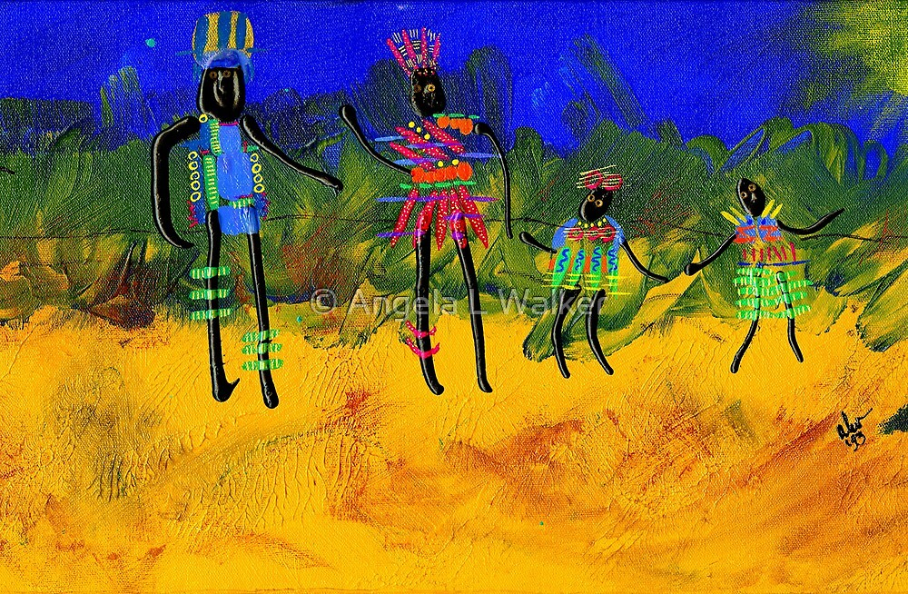 The Village People  by © Angela L Walker