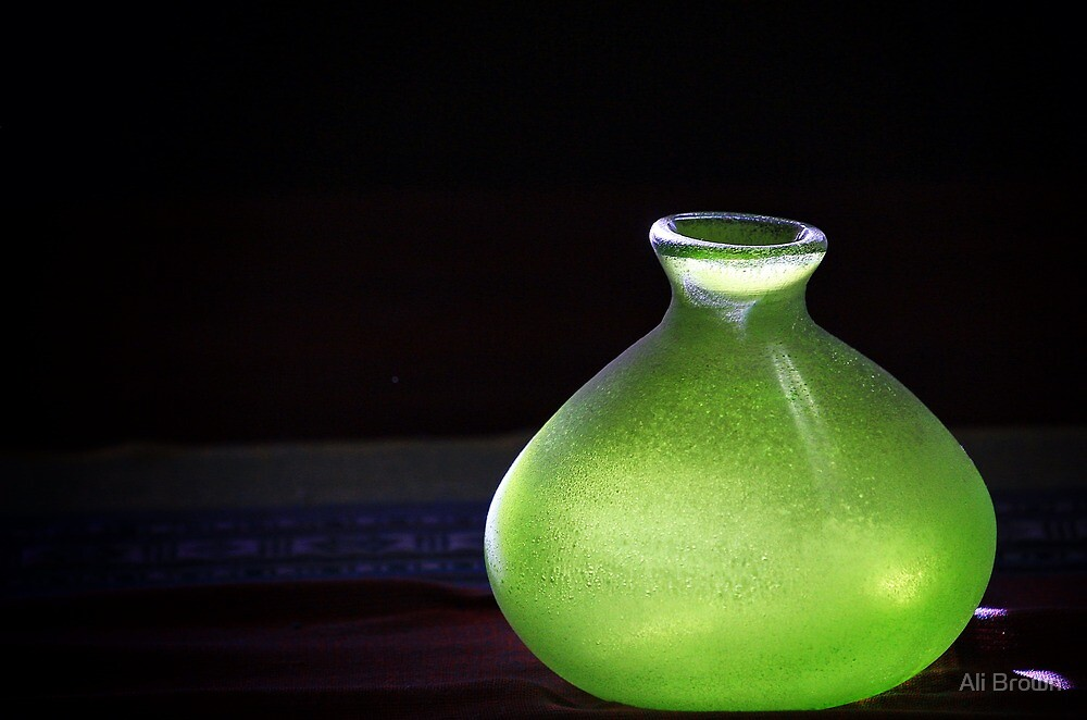 The Green Vase by Ali Brown