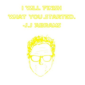 J.J. ABRAMS by JamesBengel