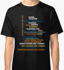 Typography Tee 6 Classic T-Shirt