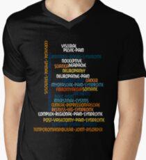 Typography Tee 6 Men's V-Neck T-Shirt