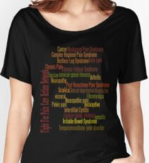 Typography Tee 7 Women's Relaxed Fit T-Shirt