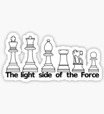The Light Side Of The Force Sticker