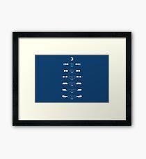 3 Heritage (E21, E30, E36, E46, E90, F30) Framed Print