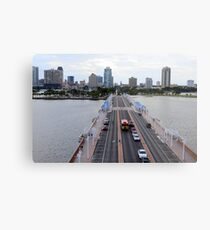 """View of St. Petersburg, Florida, from """"The Pier"""" Metal Print"""