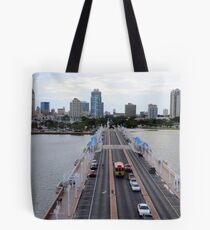 "View of St. Petersburg, Florida, from ""The Pier"" Tote Bag"