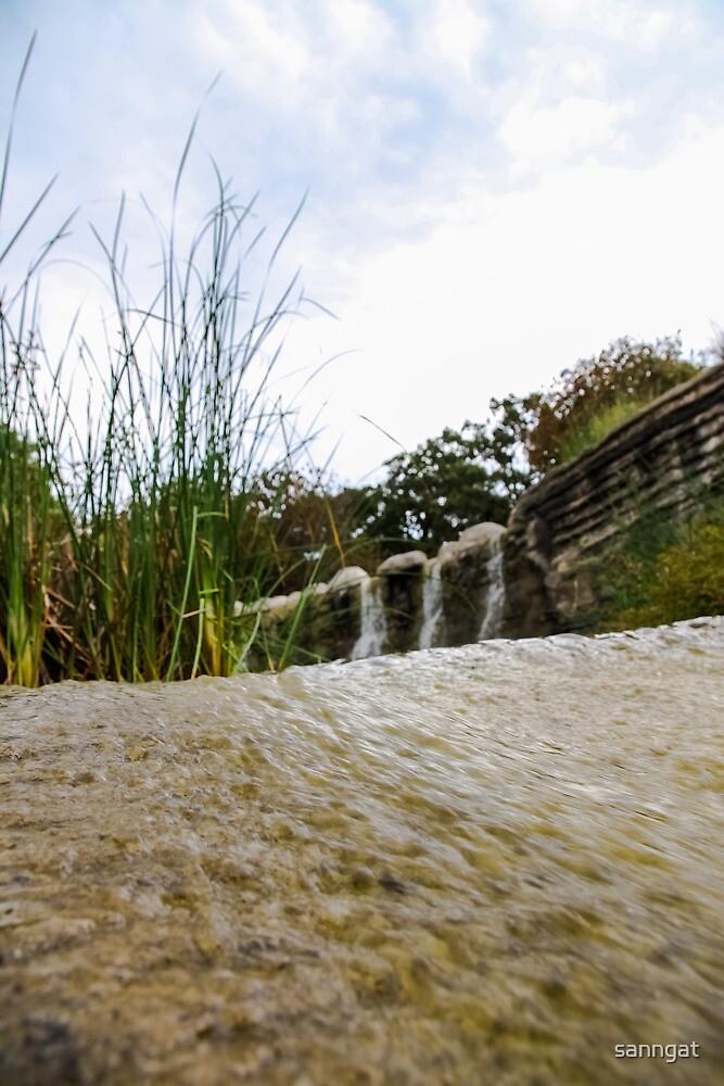 waterfall by sanngat