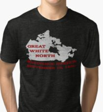 Great White North - Were you there? Tri-blend T-Shirt
