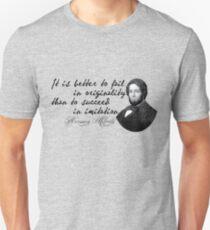 Camiseta unisex Herman Melville