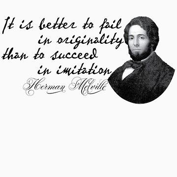 Herman Melville by HaemishBew