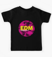 EDM (Electronic Dance Music) Community Kids Tee