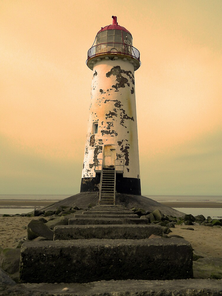 Talacre Lighthouse by DavidWHughes