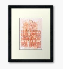 The Spice Framed Print