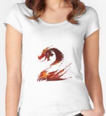 Guild Wars 2 Design Women's Fitted Scoop T-Shirt