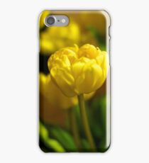 Yellow Tulips iPhone Case iPhone Case/Skin