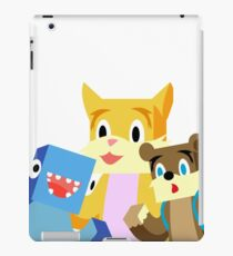 Minecraft Youtuber Stampy Cat, iBallisticsquid, L for Lee x iPad Case/Skin