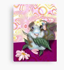 Herbie Hamster, animal whimsy Canvas Print
