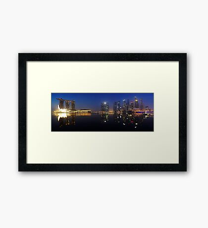 Early Riser - Singapore Framed Print